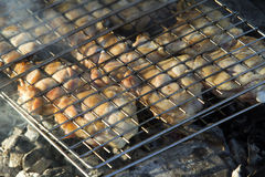 Chicken barbecue Royalty Free Stock Images
