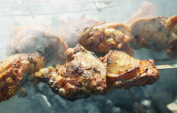 Chicken barbecue Royalty Free Stock Photo