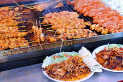 Chicken barbeque Royalty Free Stock Image