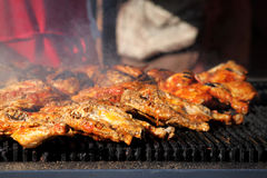 Chicken barbeque Stock Photo