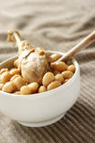 Chicken with beans Stock Photography