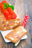 Chicken and beef terrine Stock Image