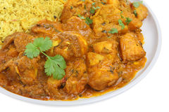 Chicken Bengal Indian Curry Stock Photography