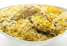 chicken biriyani Stock Images