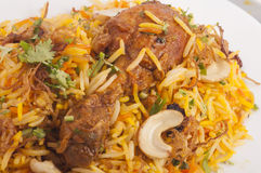 Chicken biruyani Stock Image