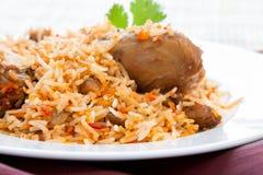 Chicken Biryani Stock Photos