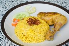 Chicken biryani Stock Images