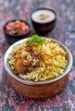 Chicken Biryani Stock Image