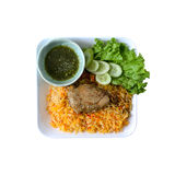 Chicken Biryani Royalty Free Stock Photography