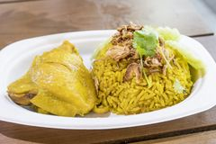 Muslim yellow rice. Stock Images