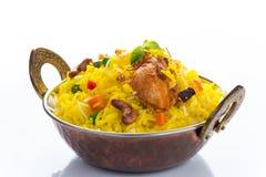 Chicken Biryani. Indian spicy chicken biryani Royalty Free Stock Images