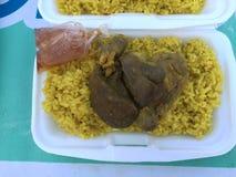 Chicken Biryani Stock Photography