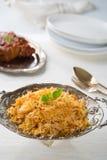 Chicken Biryani rice Stock Photo
