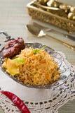 Chicken Biryani rice Royalty Free Stock Photo
