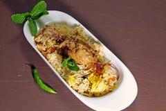 Chicken Biryani Royalty Free Stock Photography