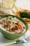 Chicken Blanquette Royalty Free Stock Images