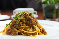 Chicken Bolognese Stock Photography