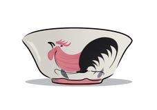 Chicken bowl Stock Image