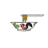 Chicken bowl Stock Images