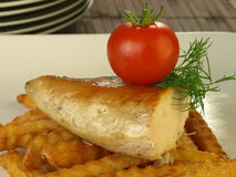 Chicken breast dinner Royalty Free Stock Images