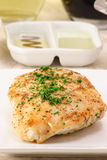 Chicken breast full of flavor royalty free stock photos