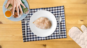 Chicken breast for high protein. Stock Photo