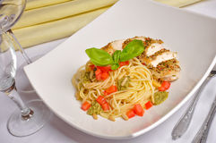 Chicken breast Italian Stock Photography