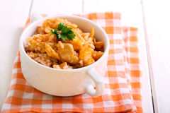 Chicken breast and rice Royalty Free Stock Photography