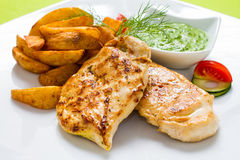 Chicken Breasts Stock Photo