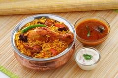 Chicken Briyani Royalty Free Stock Images