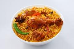 Chicken Briyani Royalty Free Stock Photography