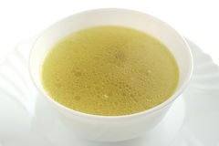 Chicken broth Royalty Free Stock Image