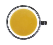 Chicken Broth Overhead View Royalty Free Stock Photos