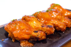 Chicken buffalo wing BBQ Royalty Free Stock Photography