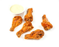 Chicken buffalo wing Stock Photo