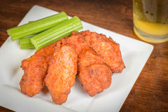 Chicken Buffalo Wings Royalty Free Stock Photo