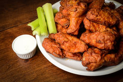 Chicken Buffalo Wings Stock Photography
