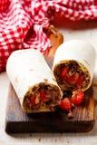 Chicken Burrito. Tex-Mex Royalty Free Stock Photography