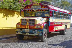 Chicken Bus, Guatemala Royalty Free Stock Image