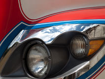 Chicken Bus Headlight Royalty Free Stock Images