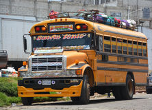 Chicken buses Royalty Free Stock Image