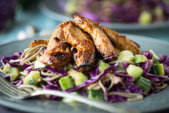 Chicken Cabbage Salad Stock Images