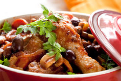 Chicken Cacciatore Royalty Free Stock Photo