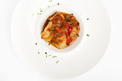 Chicken cacciatore Royalty Free Stock Photos