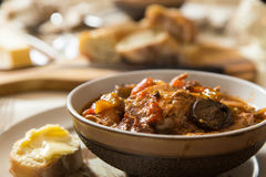 Chicken Cacciatore served for dinner Stock Image
