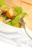 Chicken Caesar salad. Fresh Chicken Caesar salad. Law fat food, nutrition stock photos