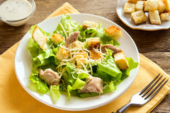 Chicken caesar salad Stock Photos