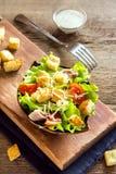 Chicken caesar salad Royalty Free Stock Photos