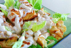 Chicken caesar salad Stock Photos