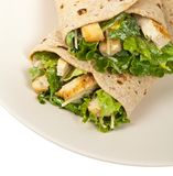 Chicken Caesar Wrap Royalty Free Stock Photos